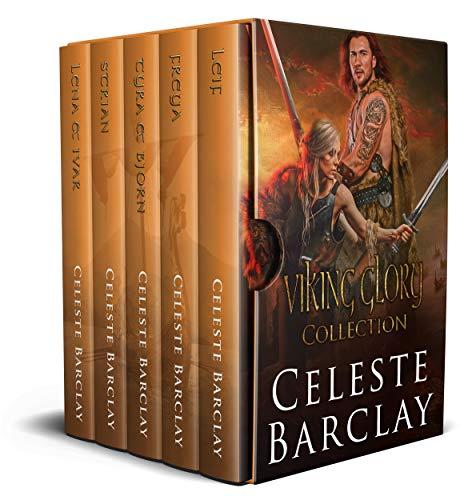 Viking Glory Complete Collection Books 1-5: A Steamy Viking Romance Box Set