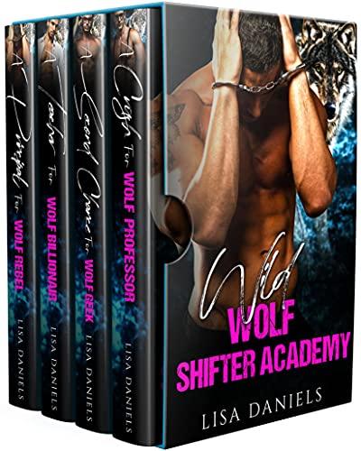 Wild Wolf Shifter Academy 4 Book Box Set