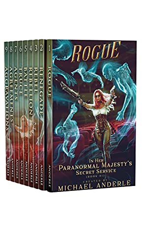 Her Paranormal Majesty's Secret Service Complete Series Omnibus